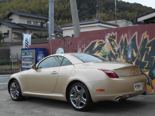 「レクサス」「SC」「オープンカー」「岡山県」の中古車4