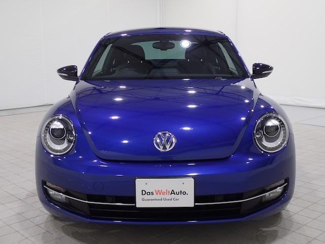 フォルクスワーゲン VW ザ・ビートル ターボ レザーシート 地デジ対応ナビ リヤカメラ ETC