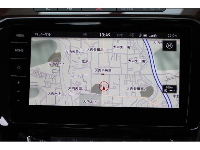 大型画面の地デジ対応のナビゲーションは操作性にも優れています。