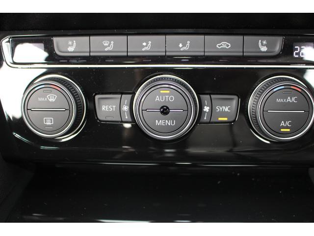 左右独立のオートエアコンは室内を快適に保ってくれます。