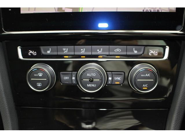オートエアコンは左右それぞれ温度設定できるのでとっても便利です。