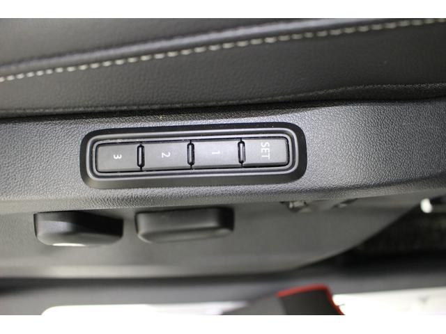 運転席にはメモリー機能が装備されていますので、運転を交代されてもポジションの変更が簡単に行えます。