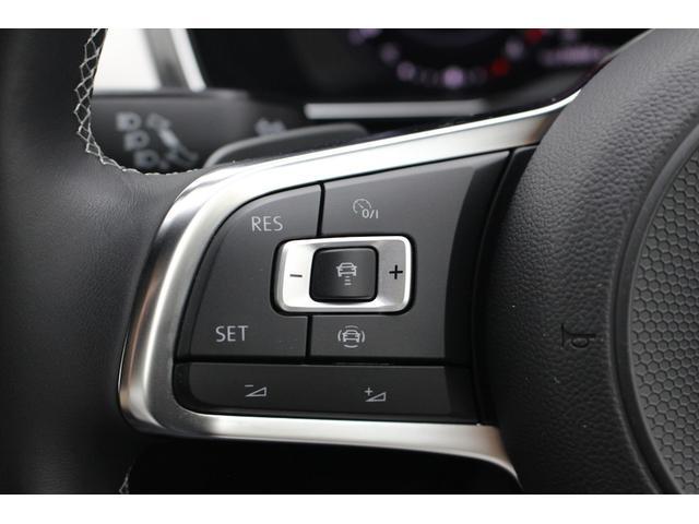 前車追従機能も装備されており、ステアリングスイッチで簡単操作出来ます。