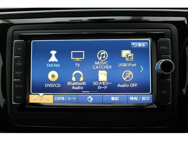 フルセグTV、CD/DVD、iPod/iPhone/Android/USBメモリー/音楽再生/Bluetoothオーディオ/ハンズフリーフォン対応。