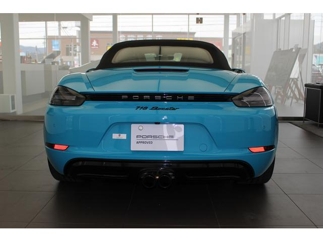 718ボクスター PDK 2019年モデル 認定中古車(13枚目)