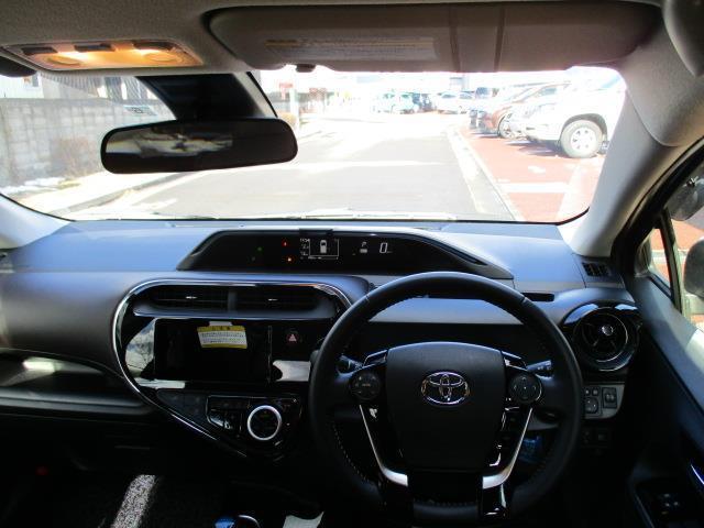 トヨタ アクア G 1年間走行無制限保証