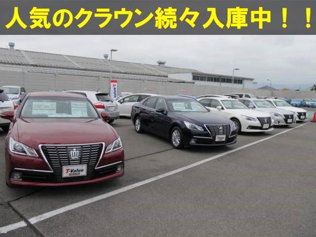 新車店舗の試乗車アップ車も展示中!