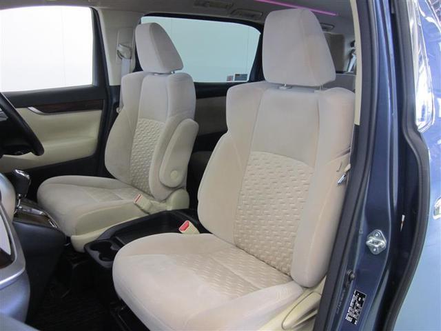 無段階調整回転アームレスト付、運転席6ウェイ、助手席4ウェイの調整ができるフロントシート。
