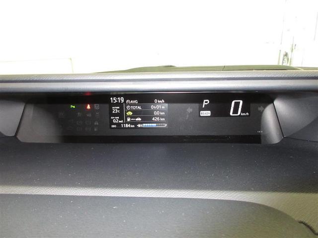 焦点を合わせやすい遠視点メーターを採用。前方の道路とメーター表示が一つの視界にとらえられるセンターメーター配置です。