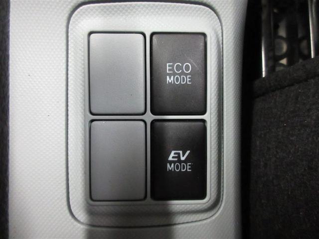 モーターだけでも走れるEVモード付。更に燃費を良くするECOモード切り替えもついてます。