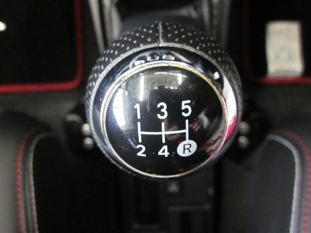 RS G's セーフティセンスC SDナビフルセグ 5MT(11枚目)