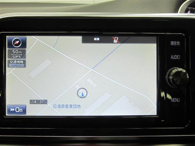 ナビは純正品。ワンセグテレビ・CD・Bluetooth・SDオーディオ・スマホ・外部入力・ハンズフリー電話対応です。