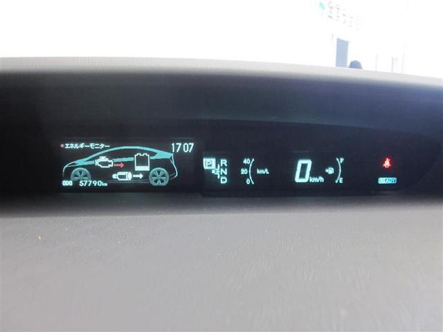 前方の道路とメーター表示が一つの視界にとらえられ、焦点を合わせやすい遠視点センターメーターを採用。