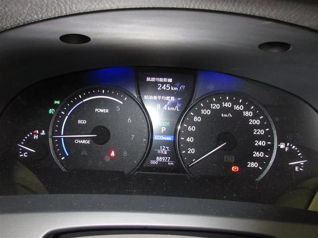 LS600hL 4WD 革シート サンルーフ フルセグ HDDナビ DVD再生 後席モニター バックカメラ 衝突被害軽減システム ETC LEDヘッドランプ 記録簿(8枚目)