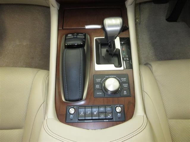 LS600hL 4WD 革シート サンルーフ フルセグ HDDナビ DVD再生 後席モニター バックカメラ 衝突被害軽減システム ETC LEDヘッドランプ 記録簿(14枚目)
