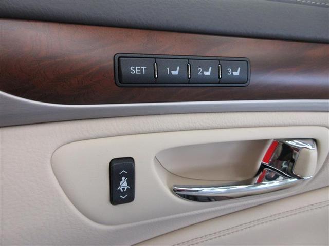LS600hL 4WD 革シート サンルーフ フルセグ HDDナビ DVD再生 後席モニター バックカメラ 衝突被害軽減システム ETC LEDヘッドランプ 記録簿(16枚目)