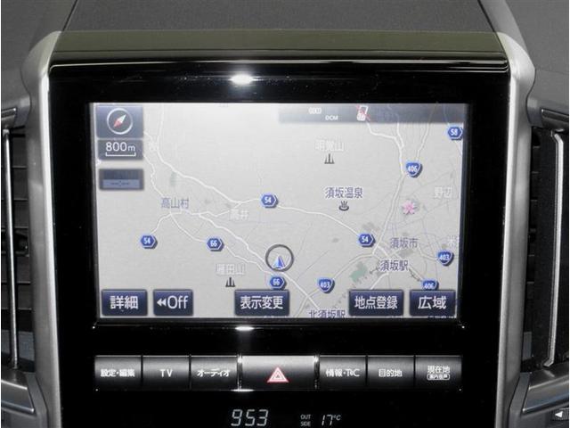 ZX 4WD 革シート サンルーフ フルセグ メモリーナビ DVD再生 ミュージックプレイヤー接続可 後席モニター バックカメラ 衝突被害軽減システム ETC LEDヘッドランプ 乗車定員8人 3列シート(9枚目)