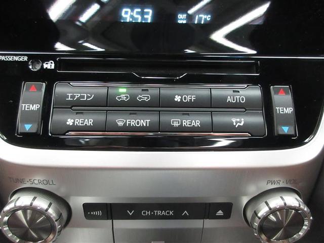 ZX 4WD 革シート サンルーフ フルセグ メモリーナビ DVD再生 ミュージックプレイヤー接続可 後席モニター バックカメラ 衝突被害軽減システム ETC LEDヘッドランプ 乗車定員8人 3列シート(10枚目)