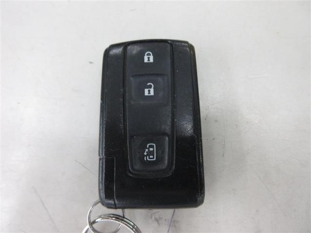 スマートキーです。バッグやポケットからキーを出す事もなく、ドアロック操作ができます。