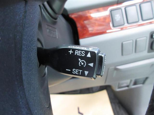 高速道路などで、アクセルの操作をする事なく一定速度で走行ができ、快適に走行できるクルーズコントロールです。