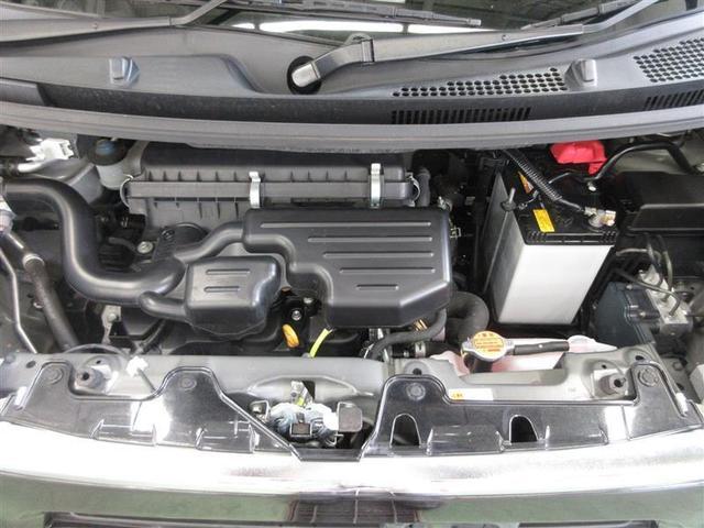 耐久性で定評のあるダイハツのエンジン。3気筒で低い回転からトルクが出るタイプの乗りやすいエンジンです。