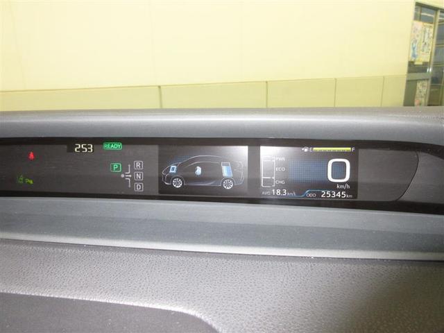 4.2インチカラーマルチインフォメーションディスプレイが付いています。燃費向上に役立つ情報などが表示できます。