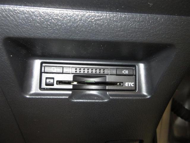 スッキリ収まったビルトインETCが付いてます。ボイス案内タイプで、カードの入れ忘れも未然に防げます。