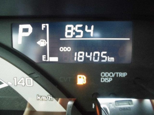 走行距離18,405km!