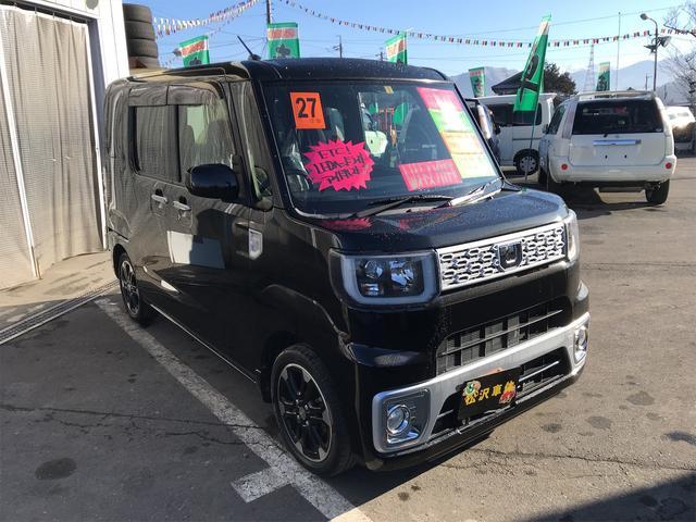 G 4WD メモリーナビ フルセグTV アイドルストップ(3枚目)