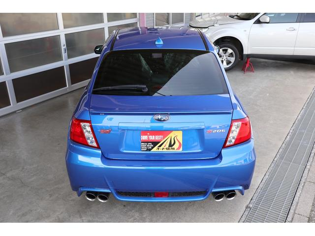 スバル インプレッサ S206 300台限定車 4WD 6MT ターボ HDDナビ