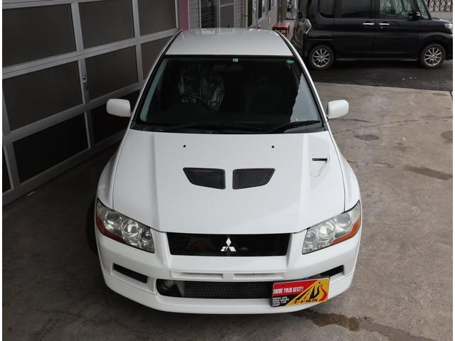 GSRエボリューションVII フルノーマル車・純正レカロシート・ブレンボブレーキ・HIDヘッドライト(4枚目)