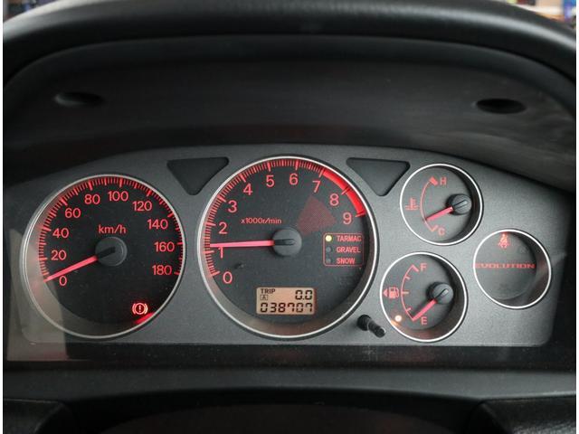GSRエボリューションVII フルノーマル車・純正レカロシート・ブレンボブレーキ・HIDヘッドライト(20枚目)