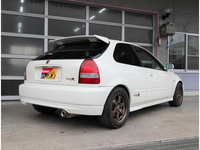 タイプR モータースポーツベース 5MT RAYS TE37 社外マフラー 車高調 エアクリ(17枚目)