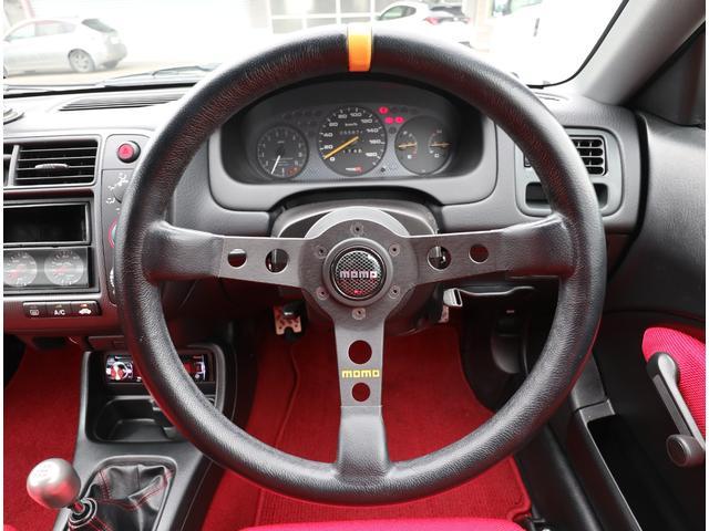 タイプR モータースポーツベース 5MT RAYS TE37 社外マフラー 車高調 エアクリ(23枚目)