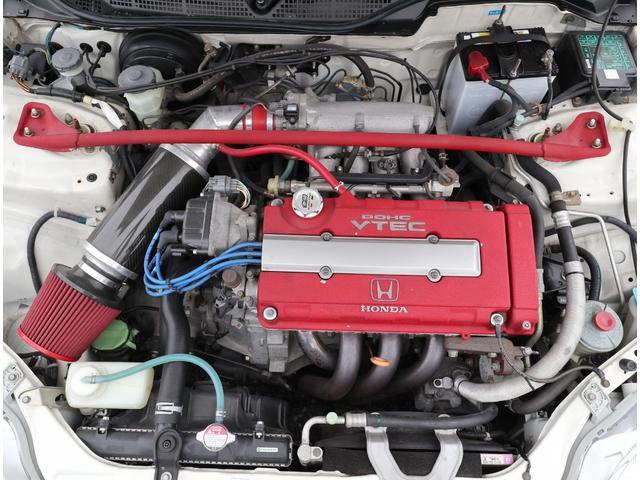 タイプR モータースポーツベース 5MT RAYS TE37 社外マフラー 車高調 エアクリ(44枚目)