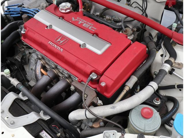 タイプR モータースポーツベース 5MT RAYS TE37 社外マフラー 車高調 エアクリ(45枚目)