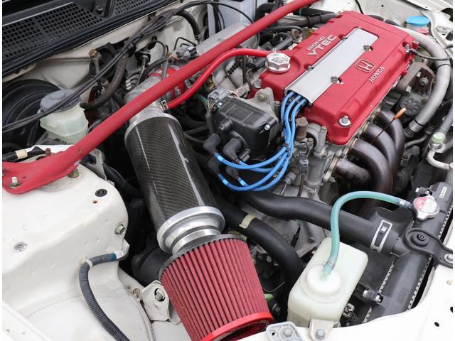 タイプR モータースポーツベース 5MT RAYS TE37 社外マフラー 車高調 エアクリ(46枚目)