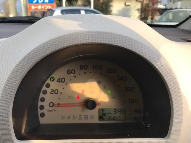 X 2WD CVT キーレス CDデッキ 走行36000km(10枚目)