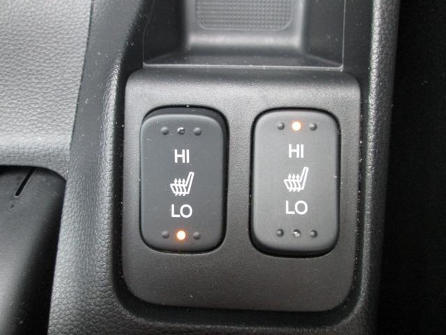 運転席、助手席にシートヒーターを装備しております。