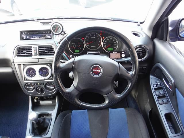 スバル インプレッサ WRX2003VリミテッドHDDナビフルセグTVHKSEVC