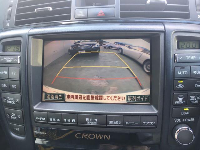 トヨタ クラウン アスリートi-Four 4WD 純正ナビバックカメラ ETC