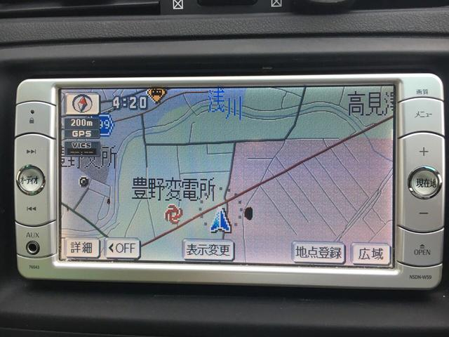 トヨタ マークX 250G Four 4WD ワンオーナー ナビ ワンセグ
