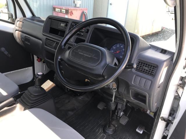 4WD EL付5速MT エアコン パワステ エアバッグ(8枚目)