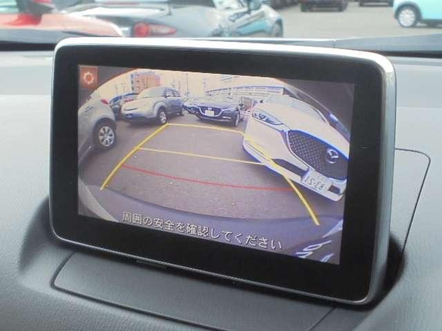 バックカメラは標準装備