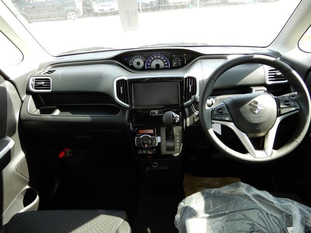 ハイブリッドMV 4WD 登録済み未使用車 レーダーブレーキ(10枚目)