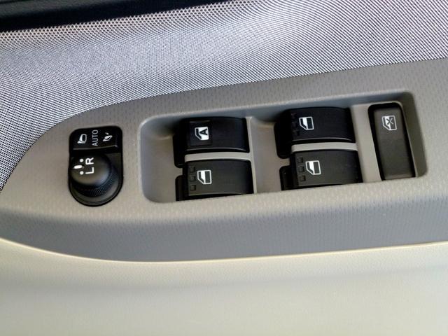 運転席ドアスイッチパネル