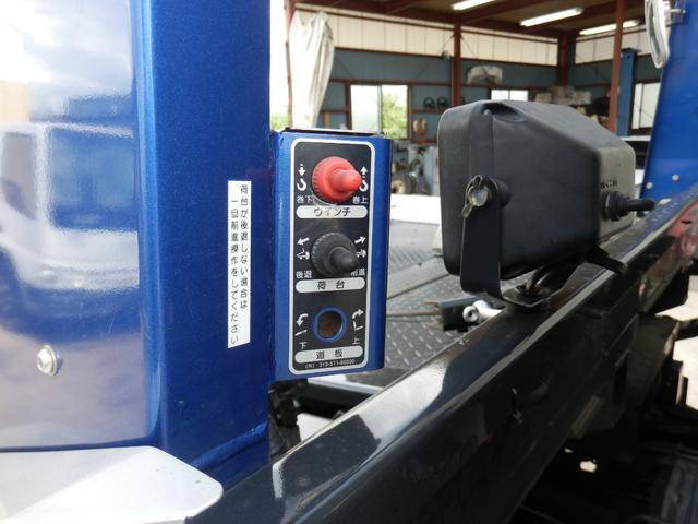 3.25t 積載車 フルフラット 三方開 ターボ ローダー(18枚目)