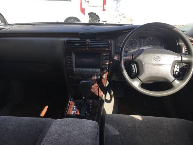 日産 シーマ 30LV ターボ パワーシート HIDライト ETC アルミ