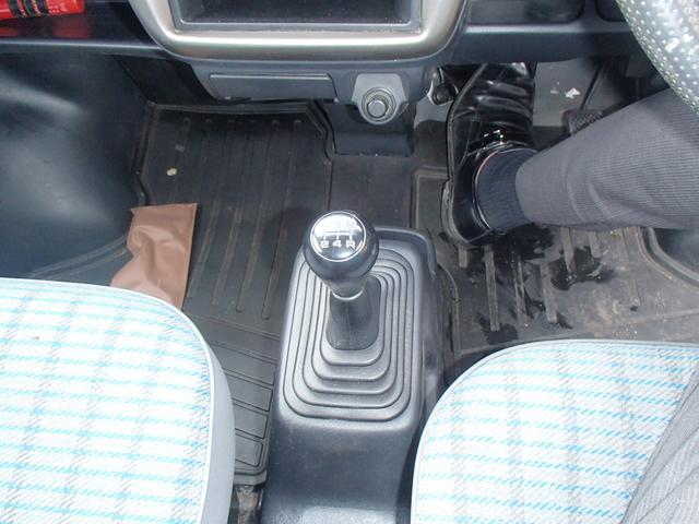 SDX 4WD マニュアル車 両側スライドドア エアコン(11枚目)