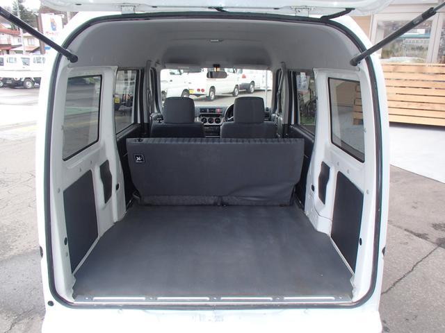 SDX 4WD マニュアル車 両側スライドドア エアコン(18枚目)